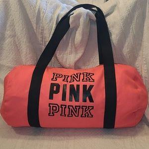 VS PINK Duffle Tote Bag